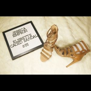 Jessica Simpson Women's Elisbette healed sandal